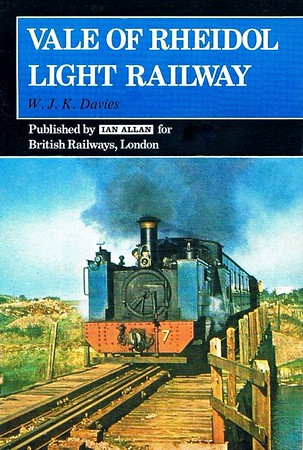 1978 Vale of Rheidol Light Railway, 4th edition, by W J K Davies, published 1978,  ISBN 0-7110-0143-X, no code. No price is to be found anywhere in the book. A5 format.