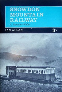 1964 Snowdon Mountain Railway, 3rd edition, by P Ransome-Wallis, published 1964, 48pp 3/-, no code. A5 format.