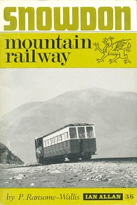 1967 Snowdon Mountain Railway, 4th edition, by P Ransome-Wallis, published 1967, 48pp 3/6, no code. A5 format.