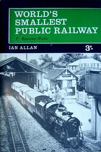 1964 World's Smallest Public Railway, 4th edition, by P Ransome-Wallis, published April 1964, 56pp 3/-, no code.