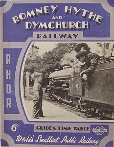 1946 Romney, Hythe & Dymchurch Railway Guide & Timetable, published 2nd March 1946, 20pp* 6d, no code. *A 24 page edition was published on the same date.
