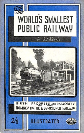 1946 The World's Smallest Public Railway, 1st edition, by O J Morris, published November 1946, 64pp 2/6, no code. Reprinted in 1948, and again in 1949 (with 62pp instead of 64pp), no codes in either reprint.