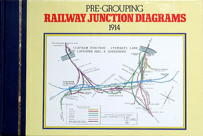 1983 Pre-Grouping Railway Junction Diagrams 1914 (Railway Clearing House), published 1983, 160pp £12.95, ISBN 0-7110-1256-3. Hardback, 25.5cm x 16.7cm.