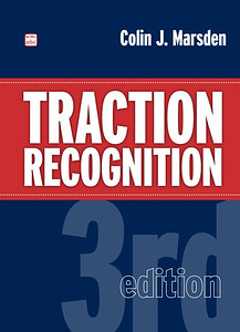 2014 Traction Recognition, 3rd edition (hardback), by Colin J Marsden, published November 20th 2014, 296pp £20.00, ISBN 0-7110-3792-2. A5 format. This appears to have been just an advance promo image cover which wasn't ever printed; when the book actually came out, it was as the 2015 edition (see following photo).