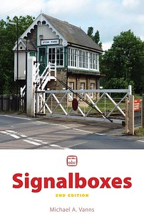 2013 Signalboxes, 2nd edition, by Michael A Vanns, published 4th July 2013, 128pp £13.00, ISBN 0-7110-3537-7, no code. Cover photo of signalbox & crossing at Stow Park.