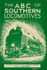 1943 3rd edtn - Southern Locomotives, published April 1943, 40pp 1/6, no code. Cover drawing by Baldwin of a SR 'Lord Nelson' Class 4-6-0.