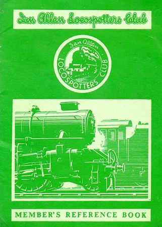 1950-58 Ian Allan Locospotters Club Reference Book in SR green, containing 16pp until 1955, when the number of pages increased to 32. Cover drawing by A N Wolstenholme of an LM Ivatt 43xxx 2-6-0.