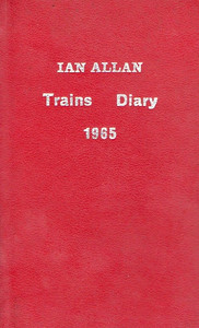 1965 Ian Allan Trains Diary.