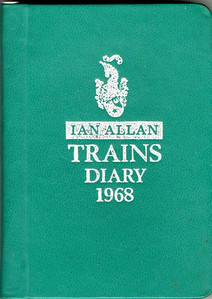 1968 Ian Allan Trains Diary.