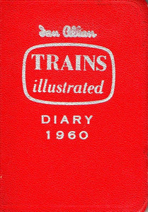 1960 Ian Allan Trains Illustrated Diary.