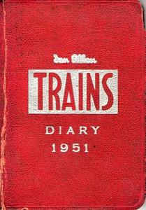 1951 Ian Allan Trains Diary.
