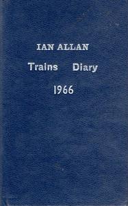 1966 Ian Allan Trains Diary.