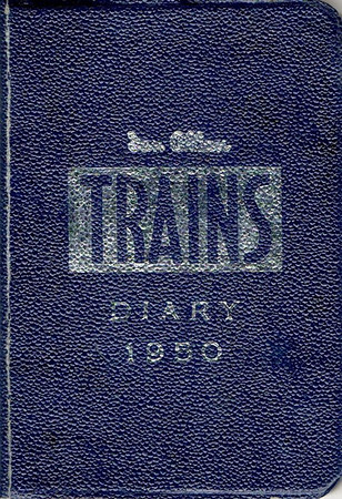1950 Ian Allan Trains Diary.