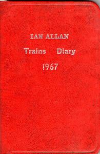 1967 Ian Allan Trains Diary.