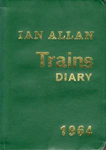 1964 Ian Allan Trains Diary.