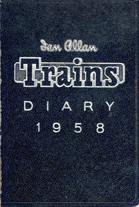 1958 Ian Allan Trains Diary.