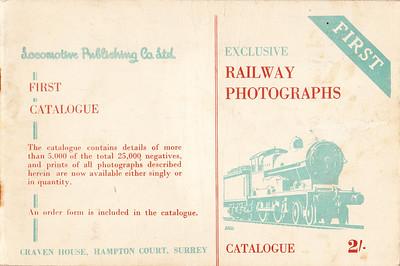 1946 ? Railway Photographs.