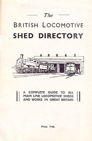 "1947 The British Locomotive Shed Directory, 1st edition (with white cover), published December 1947, 112pp 7/6, no code. This 1st edition was produced in several colours, and was not an Ian Allan publication; when IA began publishing this series, they continued using the numerology of these editions (ie: 10th edition). Larger format 9.5"" x 5.5"". Compiled and published by both R S Grimsley and Aidan L F Fuller as separate books."