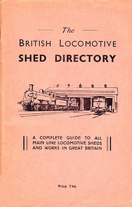 "1947 The British Locomotive Shed Directory, 1st edition (with pink cover), published December 1947, 112pp 7/6, no code. This 1st edition was produced in several colours, and was not an Ian Allan publication; when IA began publishing this series, they continued using the numerology of these editions (ie: 10th edition). Larger format 9.5"" x 5.5"". Compiled and published by both R S Grimsley and Aidan L F Fuller as separate books."