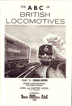 "1948 Part 2 SR. SR WC Class Pacific 34003 ""Plymouth"" + Bulleid SR Electric 20xxx."