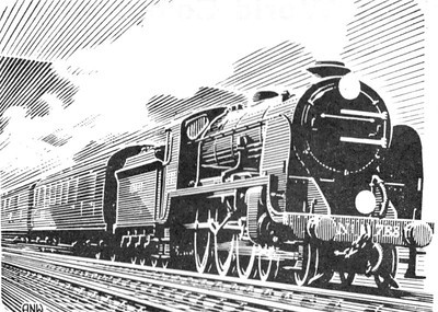 "SR N15 Class 4-6-0 788 ""Sir Urre of the Mount""."