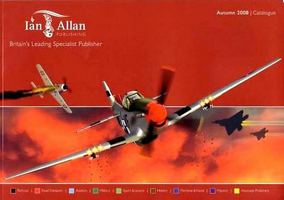 2008 Ian Allan booklist catalogue, issued for Autumn 2008, 66 pages.