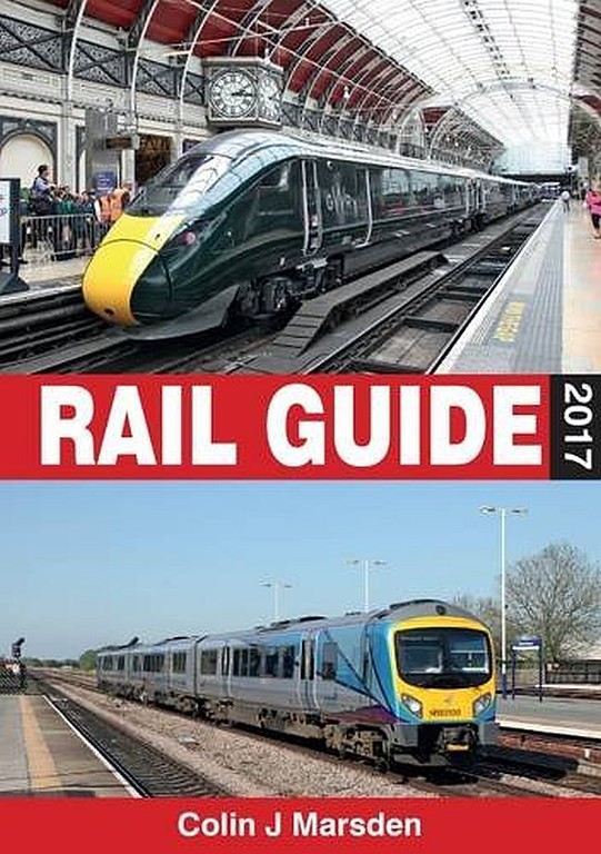 2015 Rail Guide (hardback, A5 format), by Colin J Marsden, 8th edition, to be published March 2017, 320pp £22.50, ISBN 0-7110-3856-2. This may be an early promo image, as there's no ABC logo on the cover.