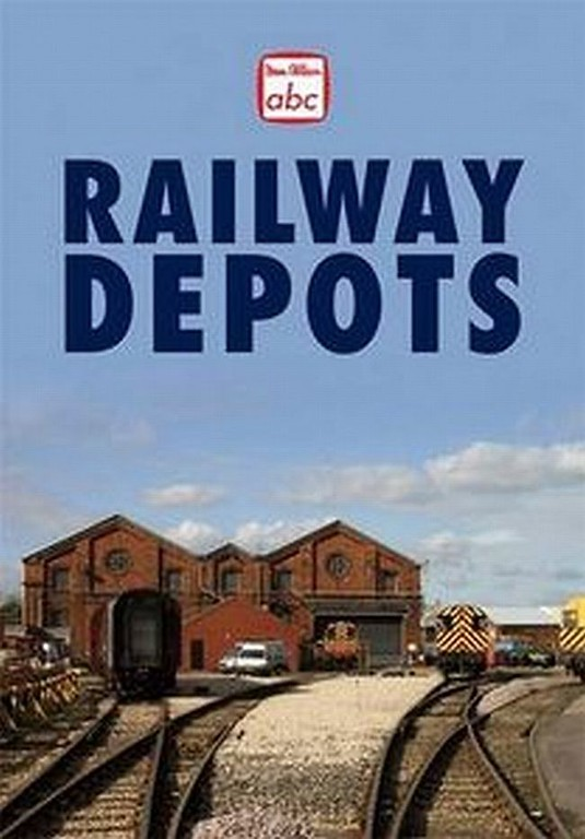 2010 Railway Depots, 1st edition, by Paul Smith & Philip Stuart, published June 2010, 128pp £12.99, ISBN 0-7110-3482-6, 1006/X. Laminated hardback with photo of ??? This is a promo image, and not used for the published book.