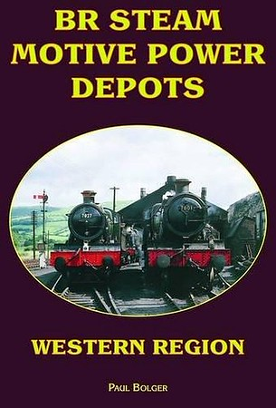 "2009 BR Steam Motive Power Depots: Western Region (reprint), by Paul Bolger, published March 2009 for/by Book Law Publications, 128pp £9.99, ISBN 1-907094-14-8, no code, softback. Cover photo of 7827 ""Lydham Manor"" and 7801 ""Anthony Manor""."