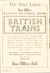 Summer 1952 Part 3 London Midland & Scottish Regions Steam Locomotives.