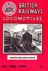 "Summer 1952 P3 - British Railways Locomotives - London Midland & Scottish Regions, published April 1952, 64pp 2/-, code: 244/99/7000/552 (see following photo); a reprint using the same cover was published in May 1952, this edition didn't have a code (see next but one photo). The same cover drawing by A N Wolstenholme of BR Standard Class 7MT (original classification, later 7P6F) Pacific 70000 ""Britannia"" appeared on all Summer 1952 editions including the combined volume."