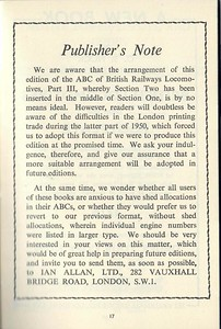 Winter 1950 Part 3 London Midland & Scottish Regions Steam Locomotives.