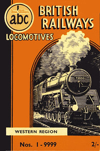 Winter 1951 P1 - British Railways Locomotives - Western Region, published September 1951, 56pp 2/-, no code. The same cover drawing by A N Wolstenholme of BR Standard Class 5MT 4-6-0 73000 appeared on all Winter 1951 editions including the combined volume.