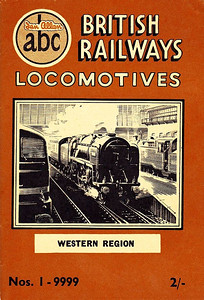 "Summer 1952 P1 - British Railways Locomotives - Western Region, published March 1952, 57pp 2/-, no code. The same cover drawing by A N Wolstenholme of BR Standard Class 7MT (original classification, later 7P6F) Pacific 70000 ""Britannia"" appeared on all Summer 1952 editions including the combined volume."