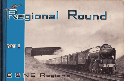 "1949 Regional Round, No.1 -E & NE Regions, edited by G Freeman Allen, published May 1949, 48pp 2/6, code: 72/276/100/549. Cover photo of A1 Class Pacific 60119 ""Patrick Stirling"". Despite this being No.1, no others were published."