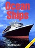 "2004 Ocean Ships, 13th edition, by David Hornsby, published May 2004, 224pp £19.99, ISBN 0-7110-3039-1, code: 0405/C. Photo of ""Queen Mary 2"" on laminated board cover. This cover, with the red title, appears to be a promo photo only."