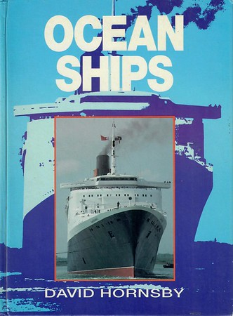"""1994 Ocean Ships, 9th edition, by David Hornsby, published September 1994, 224pp £16.99, ISBN 0-7110-2254-2, no code. Laminated board cover, with """"QE2"""" depicted. Much larger format, and the new standard size for this series: 24cm x 17.5cm."""