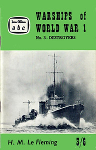 "1961 Warships of World War I, No.3 - Destroyers, by H M Le Fleming, published March 1961, 80pp 3/6, code: 1074/675/90/361. Cover photo of HMS ""Shamrock"". Reprinted July 1961 (code: 1114/712/50/761 R) and May 1962 (code: 1190/779/75/562 R)."