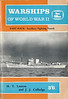 """1963 Warships of World War II, Part Four - Auxiliary Fighting Vessels, by H T Lenton & J J Colledge, published February 1963, 81pp 3/6. Code: SWWW11-4/1206/5/130/263. Cover photo of HMS """"Largs""""."""