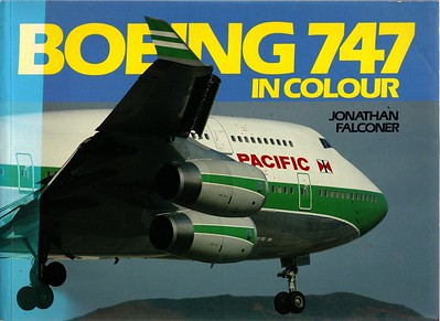 1993 Boeing 747 In Colour.