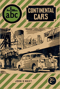 1954 Continental Cars, 2nd edition, by John G Want, published October 1954, 64pp 2/-, code: 410/C/1000/1054.