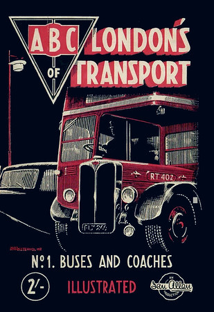 1948 1st edtn, London's Transport 1st Edition No.1 - Buses & Coaches, by S L Poole, published January 1948, reprinted August 1948, 72pp 2/-, no codes.