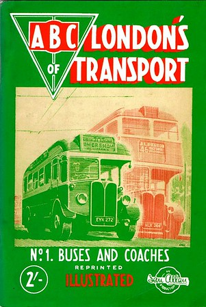 1948 2nd edtn, London's Transport 2nd Edition No.1 - Buses & Coaches, by S L Poole, published August 1948, reprinted November 1948, 84pp 2/-, codes: 47/203/100/848 and 47/212/100/1148 (reprint). Reissued in 1967 as part of the 'Transport of the Forties' series, and in original format in 1998 (see Sections 033 & 112).