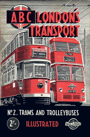 1948 1st edtn, London's Transport 1st Edition No.2 - Trams & Trolleybuses, by S L Poole, published May 1948, 60pp 2/-, code: 15/176/150/548. Reissued in 1967 as part of the 'Transport of the Forties' series (see Sections 033 & 112) and in 2000 (Section 112).