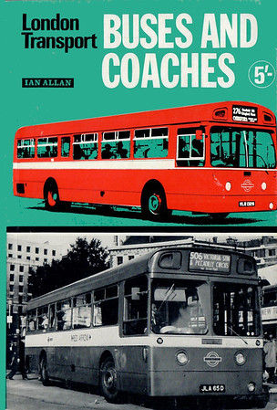 1969 27th edtn, London Transport Buses & Coaches, published July 1969, 72pp 5/-, ISBN 0-7110-0111-1, code: 685/ABEX/769.