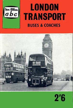 1961 18th edtn, London Transport Buses & Coaches, by P J Marshall, published October 1960, 80pp 2/6, code: 1049/651/400/1060.