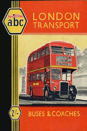 1951 5th edtn, London Transport Buses & Coaches, by E J Smith, published November 1950, 80pp 2/-, code: 151/433/200/1150.