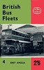 1962 British Bus Fleets No.4 - East Anglia, 2nd edition, published June 1962, 68pp 2/6, code: BBF4/1171/764/125/662.