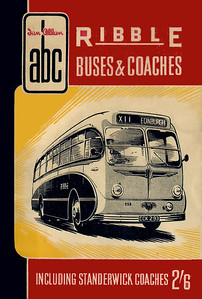 1956 Ribble Buses & Coaches (including Standerwick Coaches), 4th edition (no map), published 1956, identical reprint January 1957, 64pp 2/6, no code.
