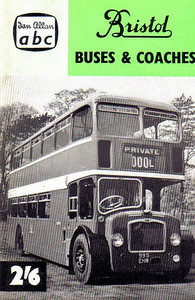 1960 (British Bus Fleets No.13) Bristol Buses & Coaches, 2nd edition (no map), published April 1960, 52pp 2/6, code: 609/1010/125/460.